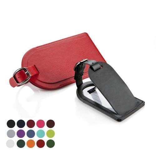 Large Luggage Tag with Security Flap