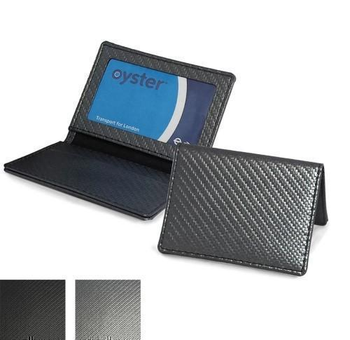 Oyster Travel Card Case Carbon Fibre Finish