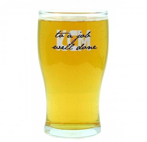 Printed Half Pint Glass 39cl/137 Tulip