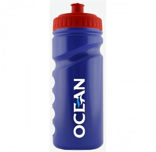 Customised Sports Bottle 500ml Blue